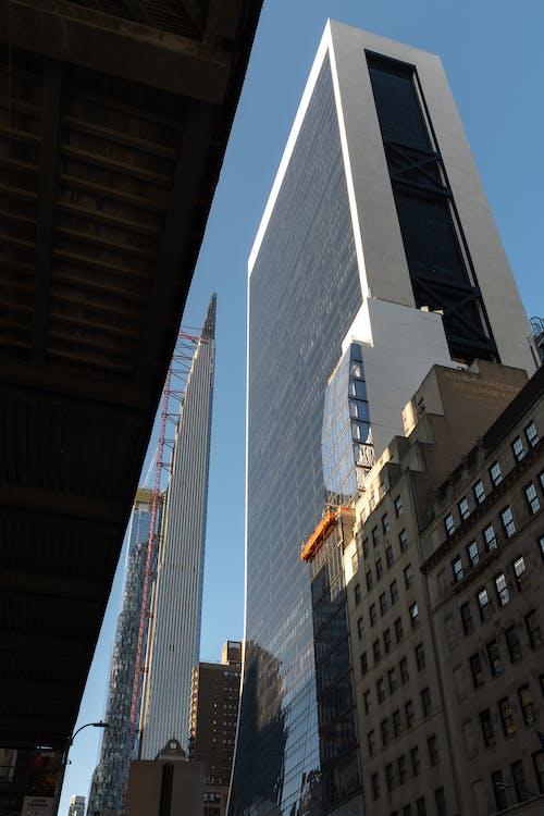 Ingyenes stockfotó felhőkarcolók témában