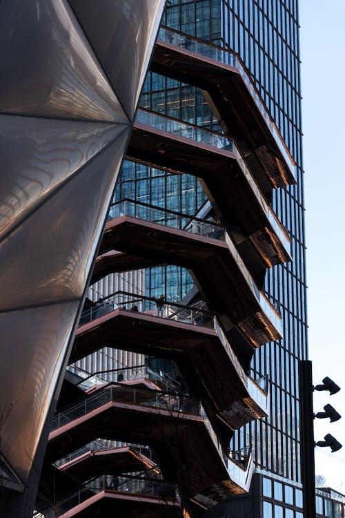Ingyenes stockfotó felhőkarcolók, geometriai, Manhattan témában