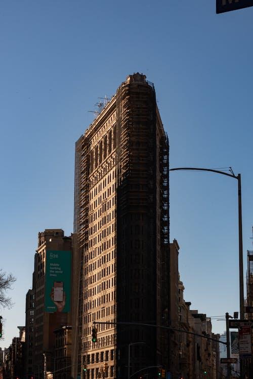 Ingyenes stockfotó felhőkarcoló, Flatiron Building, Fuller Building témában