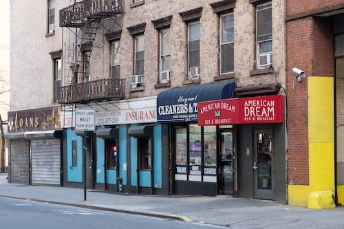 Ingyenes stockfotó üzletek, város utca témában