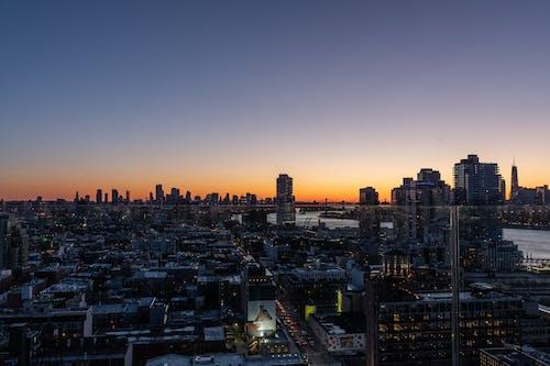 Ingyenes stockfotó brooklyn, éjszakai kilátás, felhőkarcolók témában