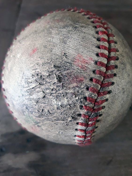Close-Up Photo of Baseball Ball