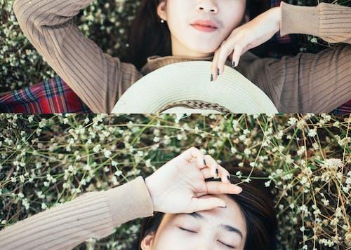 Безкоштовне стокове фото на тему «азіатські жінки, атмосферний, брюнетка, довге волосся»