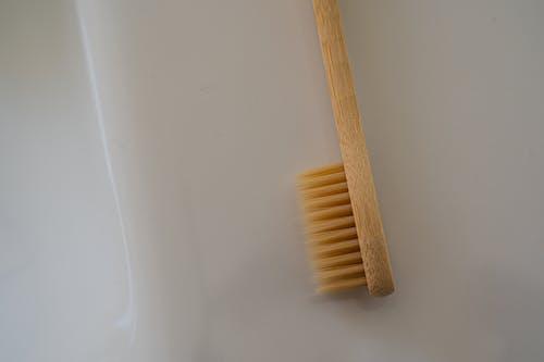Tandenborstel Op Wit Oppervlak