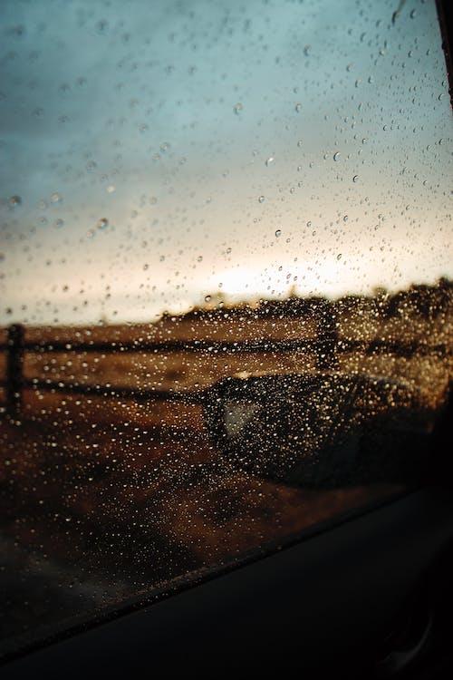 Foto profissional grátis de água, atmosfera, brilho, copo