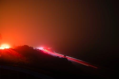Foto profissional grátis de abstrair, automóvel, brilho, luzes