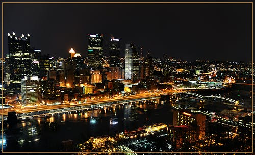 Free stock photo of city, cityscape, pittsburgh