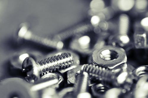 Free stock photo of bolt, nut, nuts and bolts