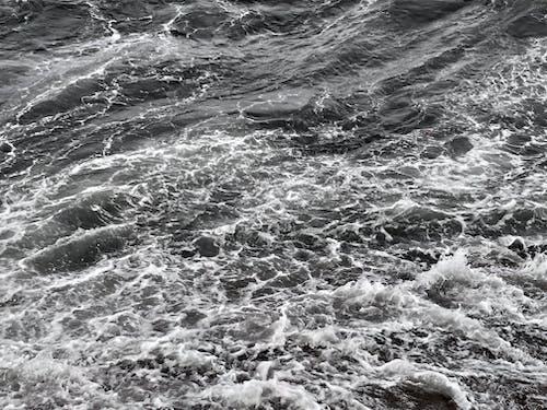 Fotobanka sbezplatnými fotkami na tému Ázia, búrka, kývať, more