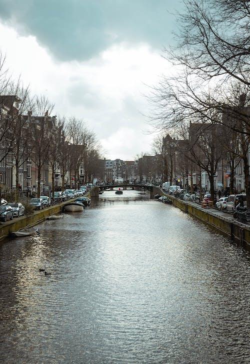 Δωρεάν στοκ φωτογραφιών με Άμστερνταμ, κανάλι
