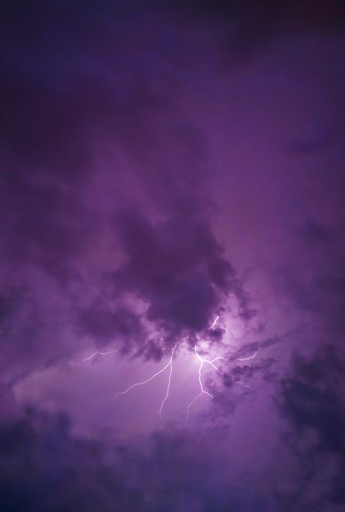 Photo of Clouds With Thunder