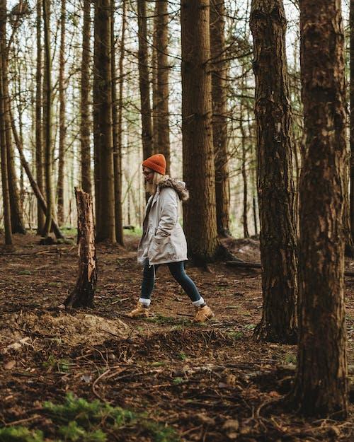 Foto stok gratis beanie, berjalan, di luar rumah, hiker