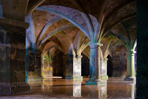 Free stock photo of ancient, architecture, cistern, columns