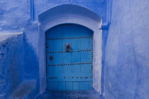 Free stock photo of ancient, architecture, blue, door