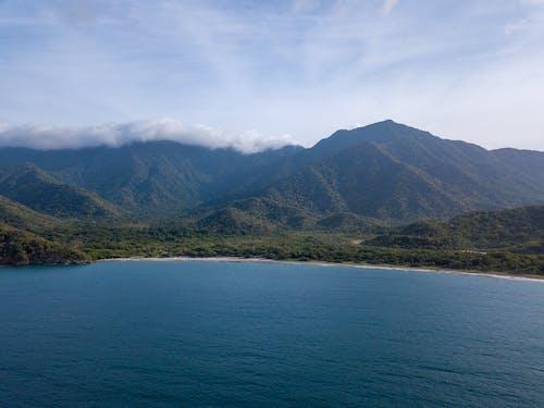 Immagine gratuita di montagna, oceano, tropico