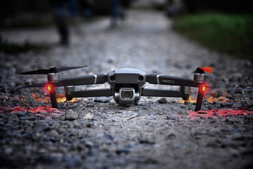 Photo Of Drone On The Ground