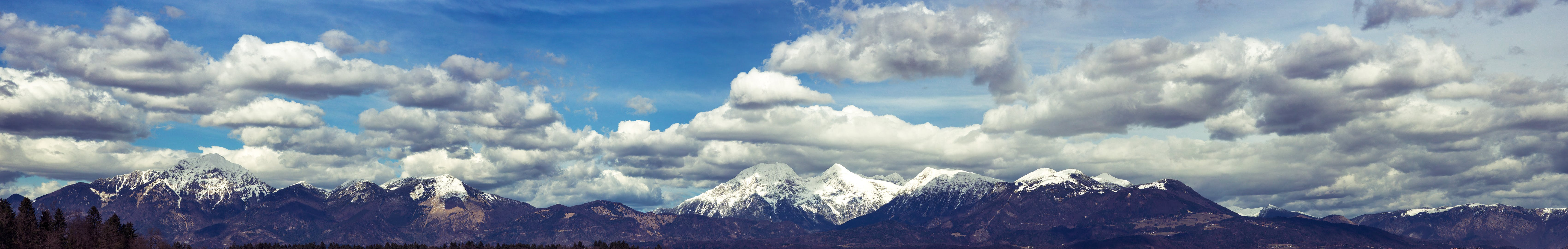 Free stock photo of clouds, mountains, nature, sky