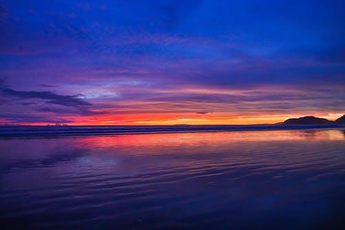 Free stock photo of beach sunset, landscape, sunset