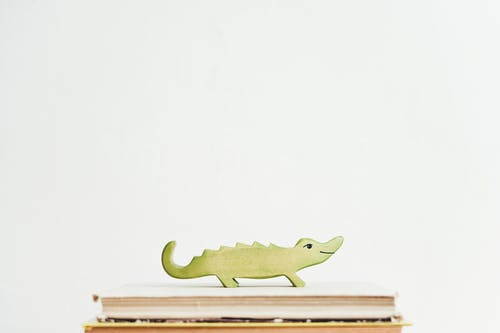 Green Crocodile on Books