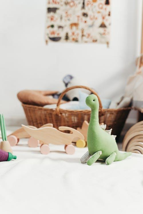 Green Dinosaur Stuff Toy