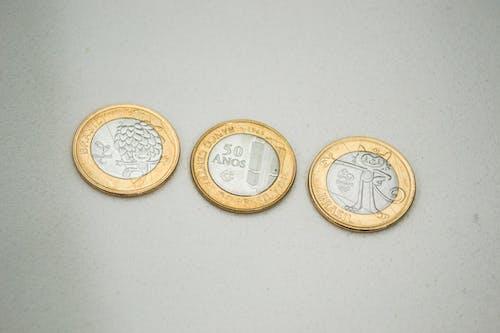 Бесплатное стоковое фото с dinheiro, jonaskakaroto, moeda, бразилия