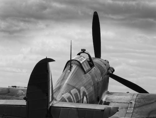 Free stock photo of aircraft, hurricane, mono, world war 2