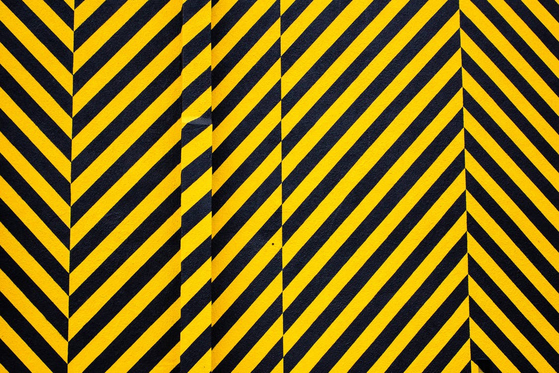 Sarı Ve Siyah çizgili