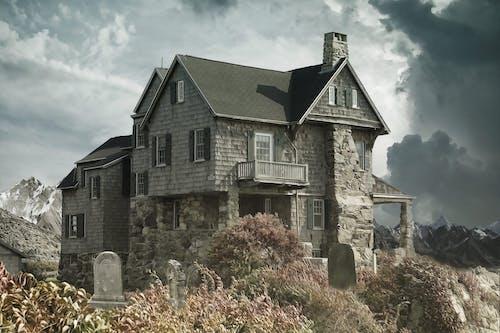 Безкоштовне стокове фото на тему «Windows, архітектура, балкон, гори»