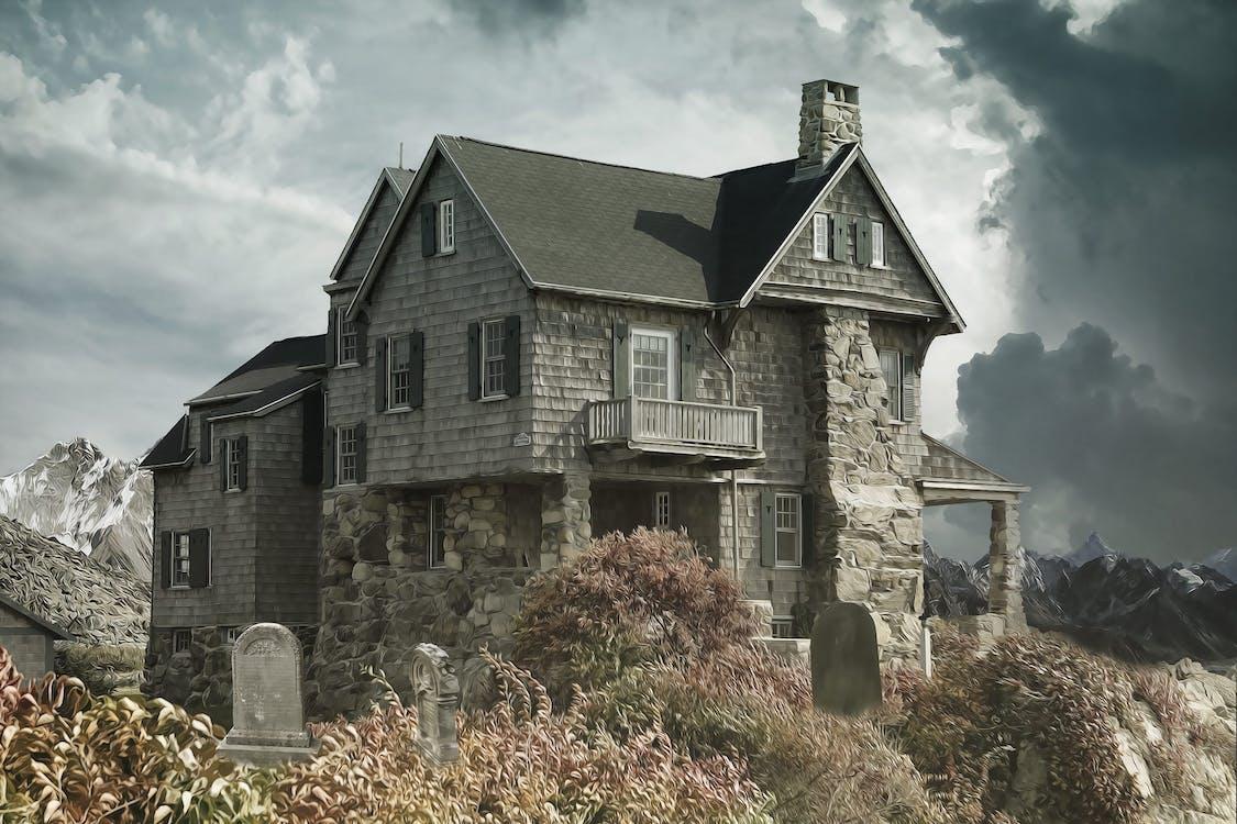 Gray Concrete House