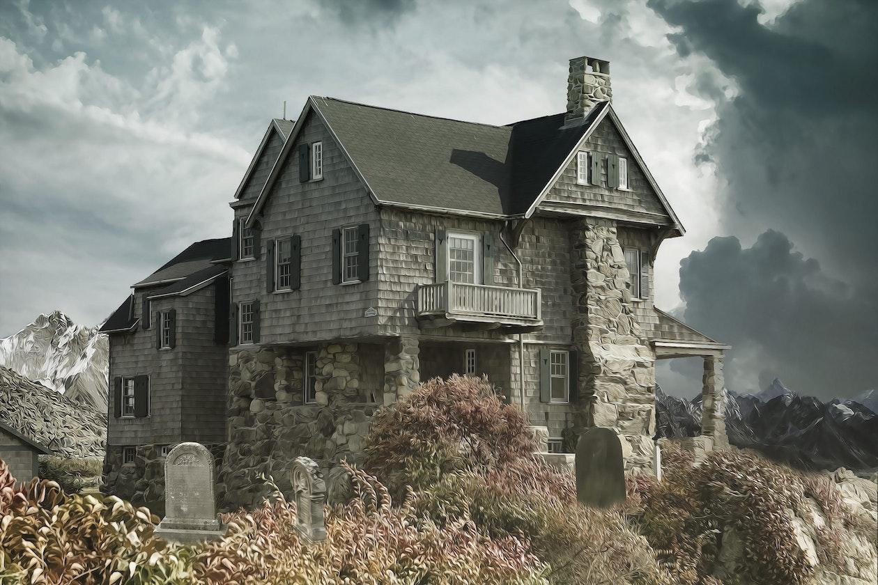 stone coastal home