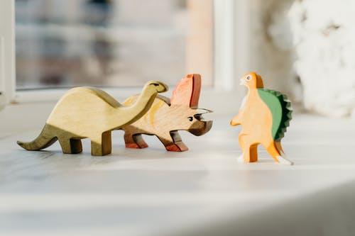 Photo of Wooden Dinosaur Toys
