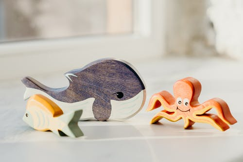 Shallow Focus Photo of Wooden Toys