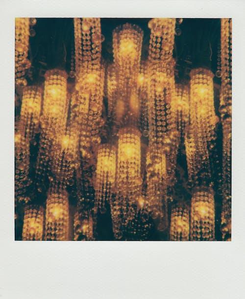 로우앵글 샷, 매달린, 불빛, 불이 켜진의 무료 스톡 사진