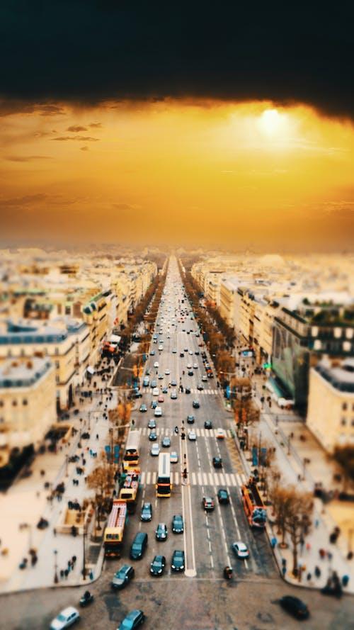 Δωρεάν στοκ φωτογραφιών με δύση του ηλίου, ηλύσια πεδία, Παρίσι