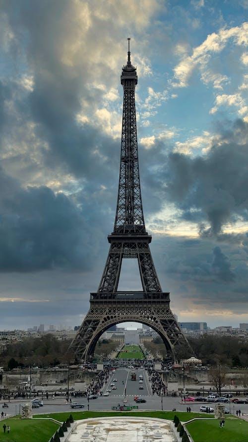 Ilmainen kuvapankkikuva tunnisteilla arkkitehtuuri, eiffel-torni, kaupunki, korkea