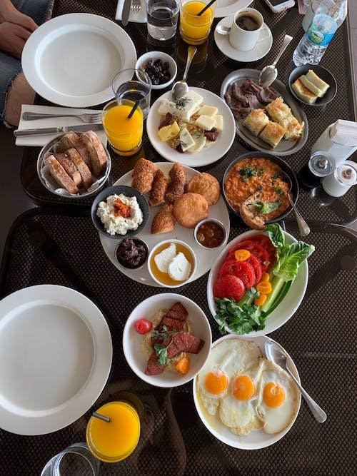 Free stock photo of breakfast, healthy breakfast, turkish breakfast