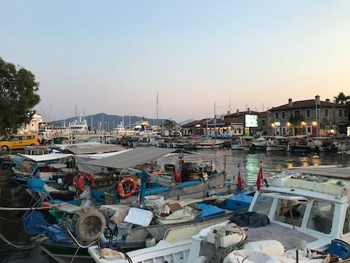 Free stock photo of dock, pier, sunset, wharf