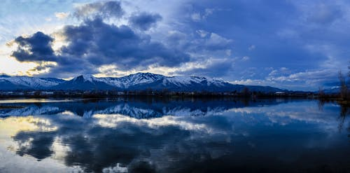 Kostnadsfri bild av blå, flod, landskap