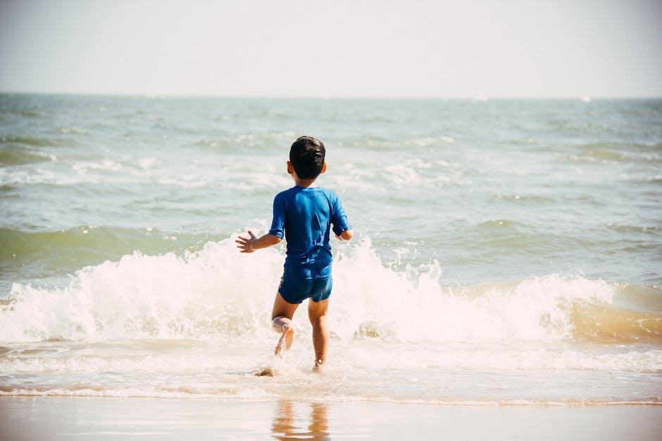 beach, boy, child