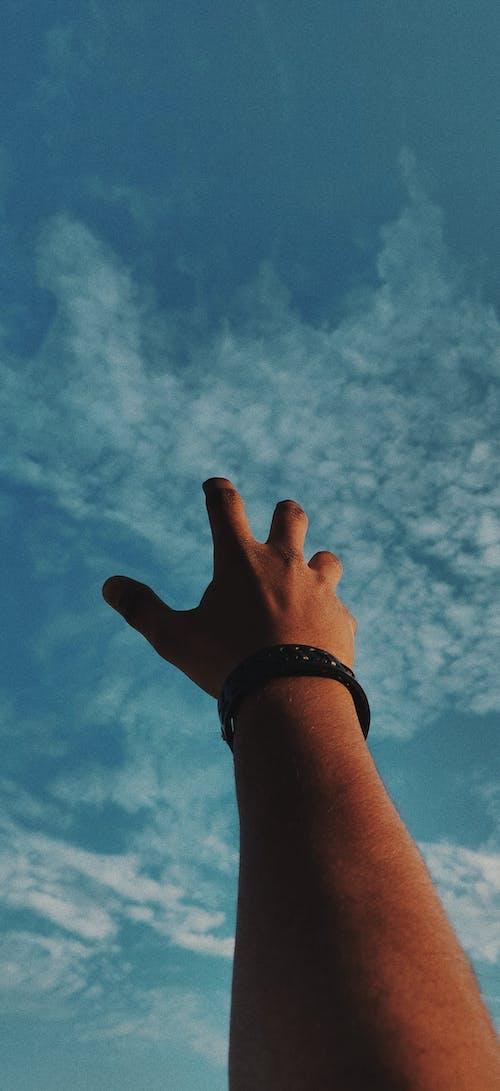 Fotos de stock gratuitas de alcanzando, cielo, cielo azul, cielo brillante