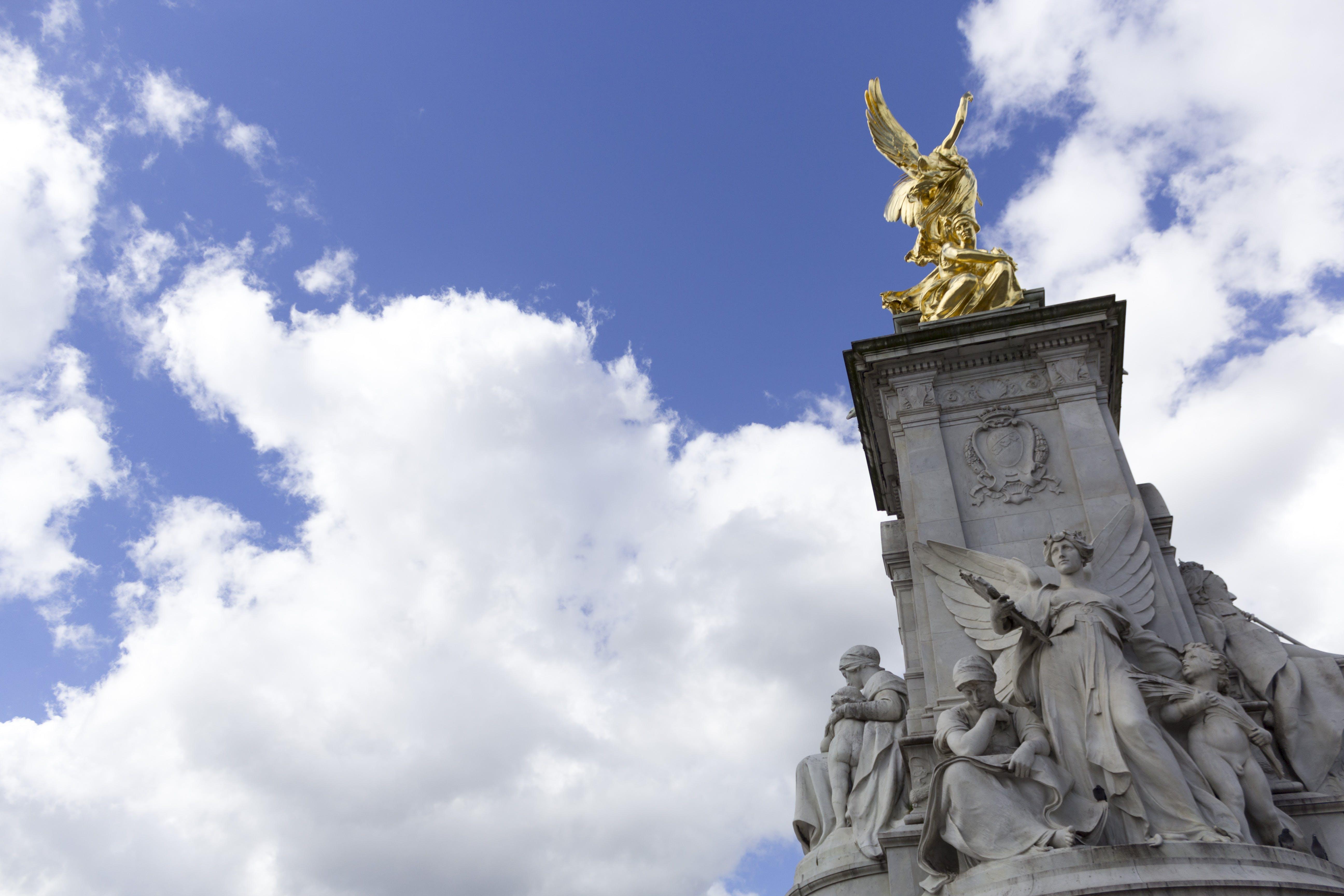 Free stock photo of buckingham palace, fountain, london