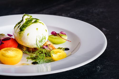 Gratis lagerfoto af burrata, close-up, cuisine