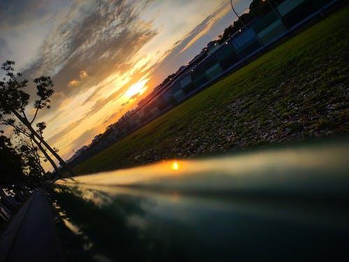 gün batımı, Singapur içeren Ücretsiz stok fotoğraf
