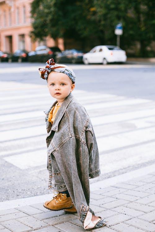 享受, 兒童, 十字路口, 可愛 的 免費圖庫相片