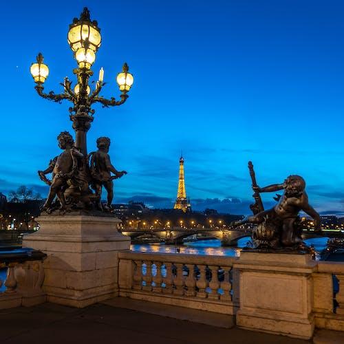 Free stock photo of architecture, blue hour, bridge, bridge - built structure