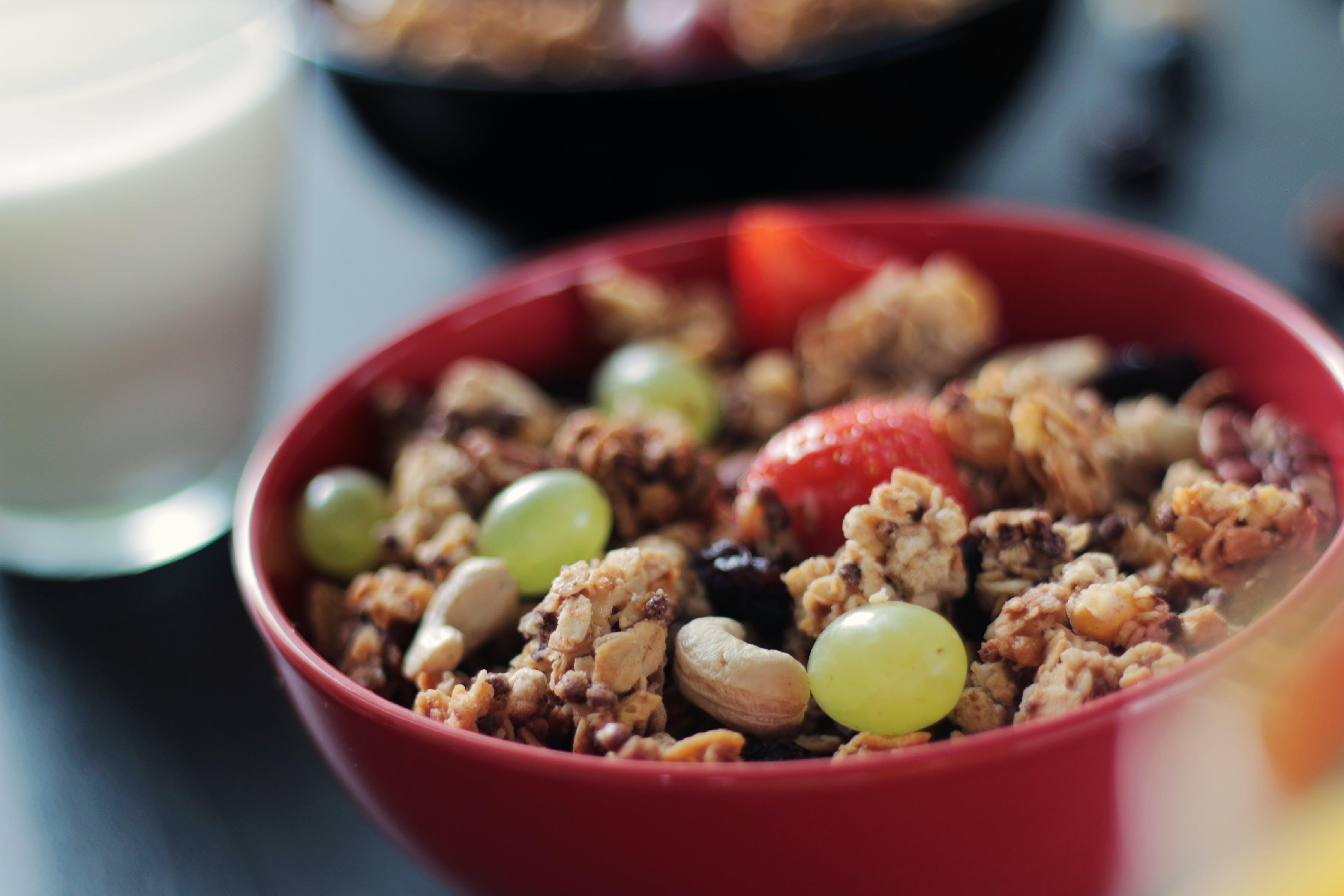 堅果, 廚房, 水果, 燕麥捲 的 免费素材照片