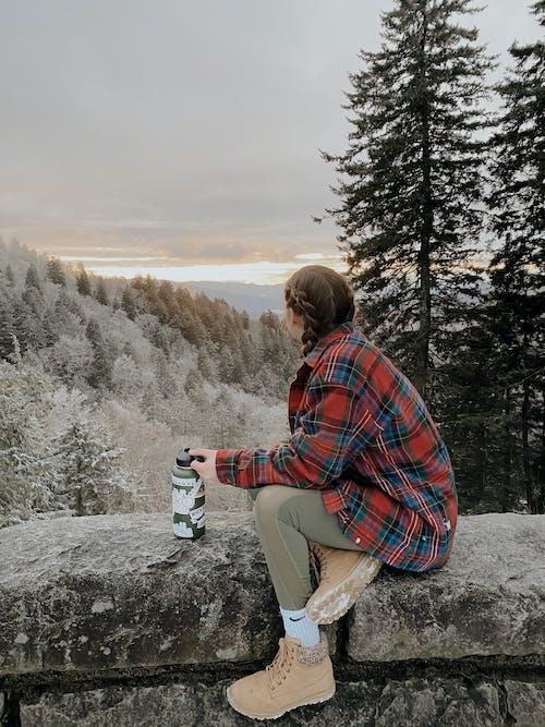 コールド, ハイキング, 人, 余暇の無料の写真素材
