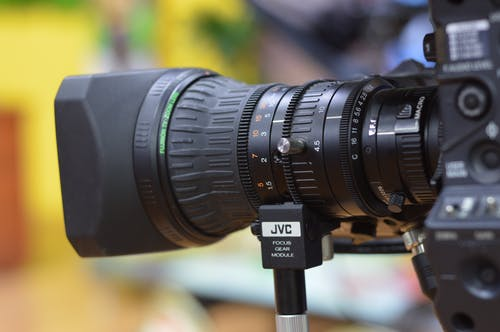 Black Nikon Camera Lens