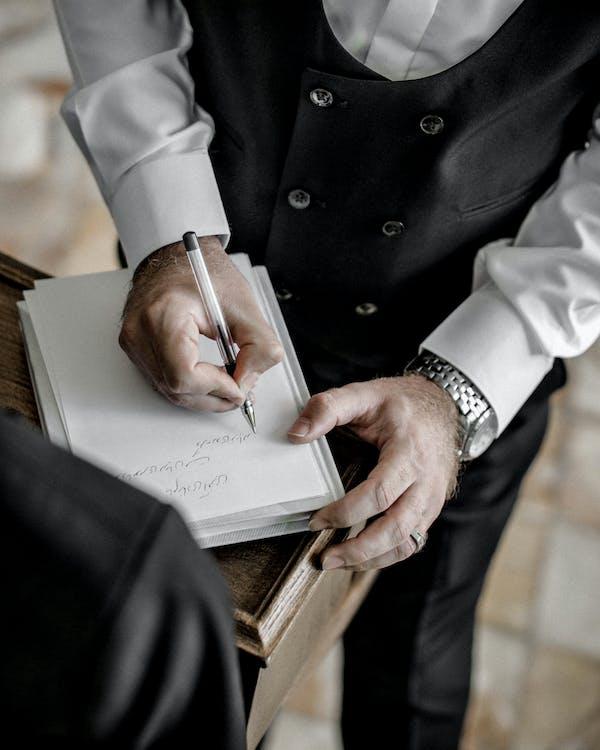 결혼 사진, 결혼식, 계약