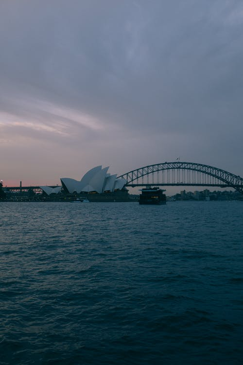 Sydney Opera House and the Sydney Harbour Bridge